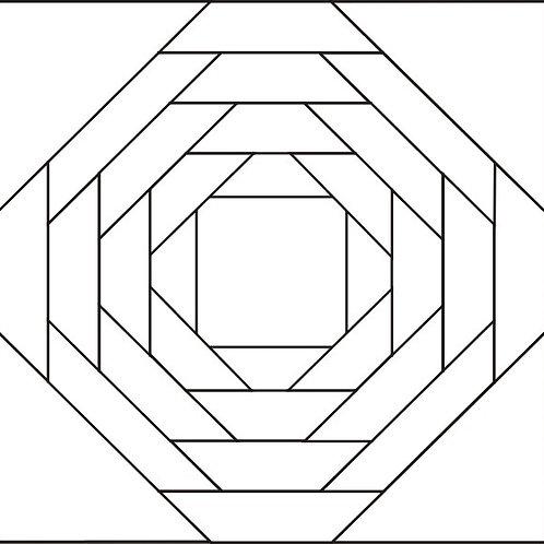"""Pineapple Blocks 12"""" - 16/pkg"""