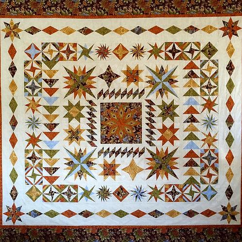 Star Sampler Quilt Pattern