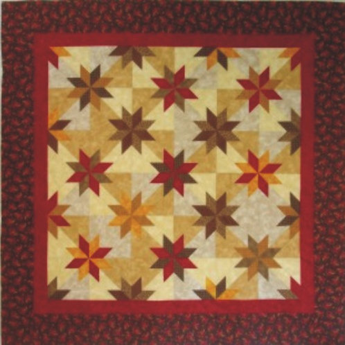 Hunter Star Mid-Size Quilt Pattern
