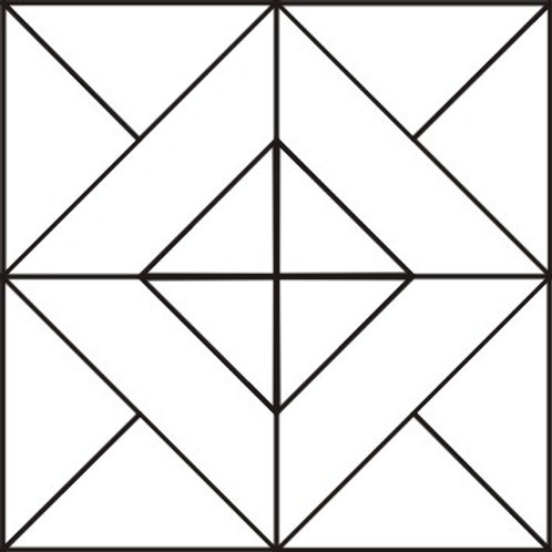 "Harlequin Diamond Blocks 6"" 6/pkg"