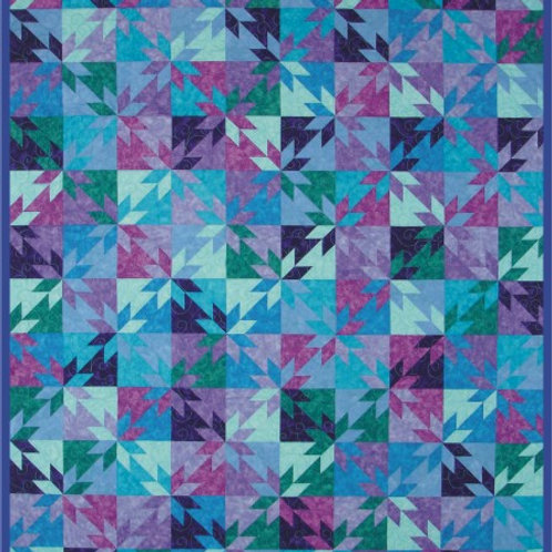 Hunter Star Quilt Fabric Kit