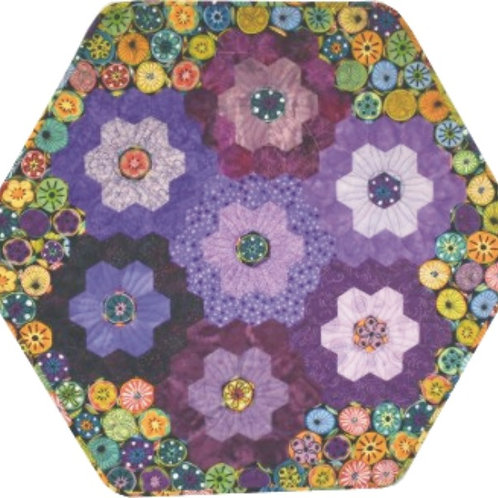 Hexie Larger Table Topper Pattern