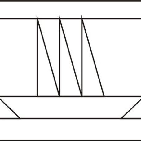 """Sailboat Blocks 8"""" 6/pkg"""