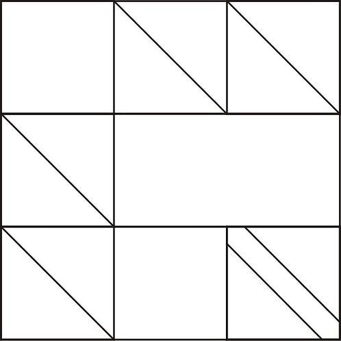 """Maple Leaf Blocks 8"""" 6/pkg"""