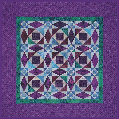 Storm at Sea Quilt Pattern (Small)