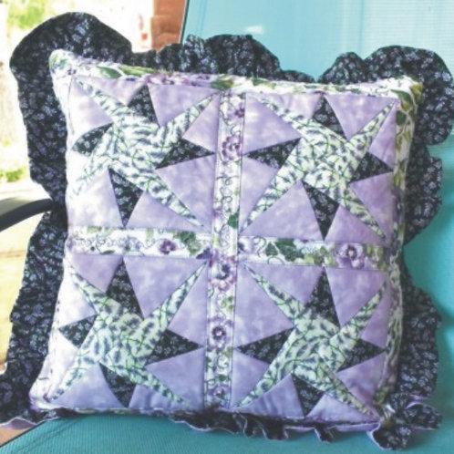 Woven Star Pillow Pattern (2)