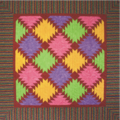 Pineapple Throw Quilt Pattern
