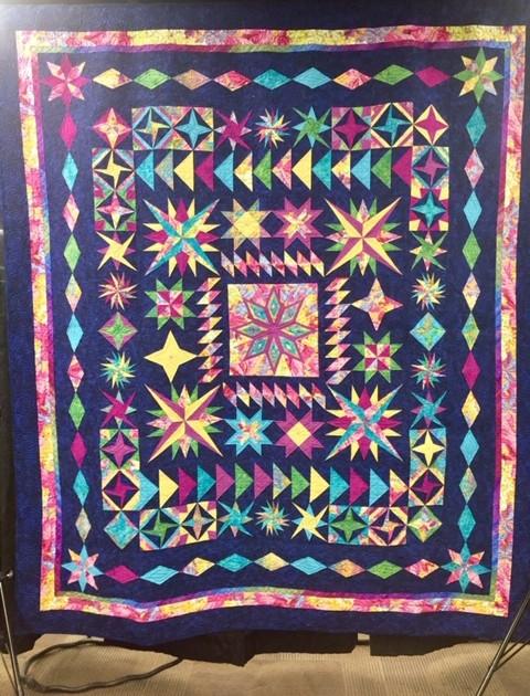 CQC of Denver's Raffle quilt