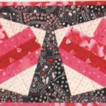 Tipsy Valentine Table Runner/Topper Pattern