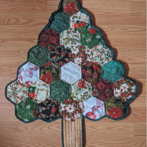 "Hexi Christmas Tree Pattern 24"" x 28"""
