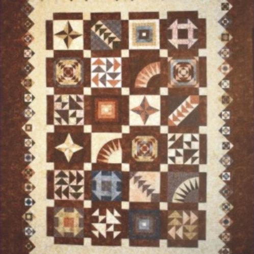 Modern Sampler Quilt Pattern
