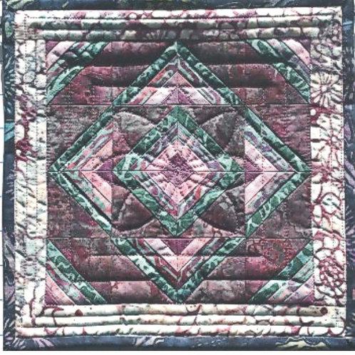 Miniature Roman Stripe Pattern