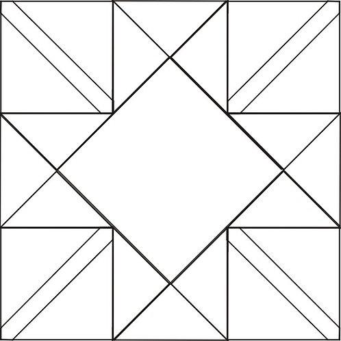 "Star Crossed Blocks 12"" 6/pkg"