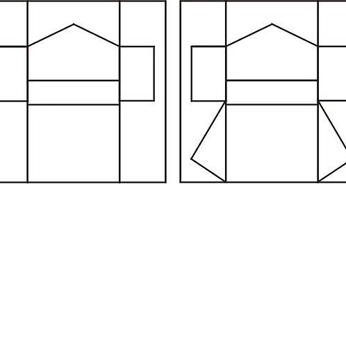 Kimono Block Set 12/pkg