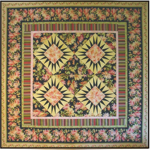 Simple Beauty Quilt Pattern