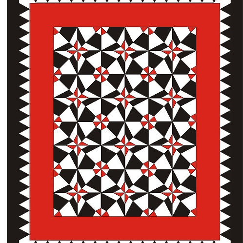 Tuxedo Quilt Fabric Kit (Pattern included)