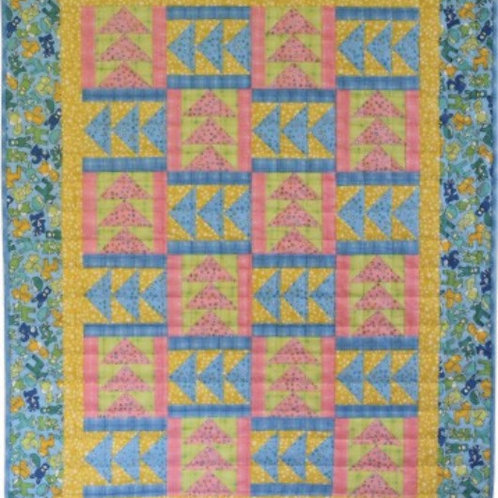 Geese, Geese, Geese Baby Quilt Pattern