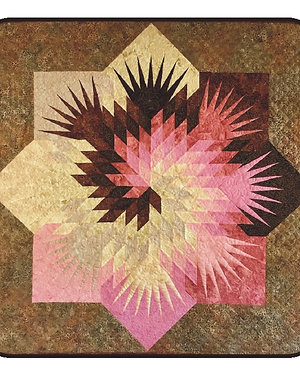 "Neapolitan Swirl Quilt 48"" x 48"""