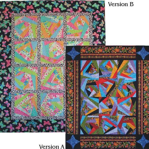 Crazy Quilt Throw Pattern