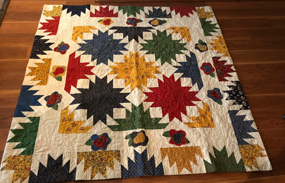 Patricia Eastman's Pineapple Blossom Quilt