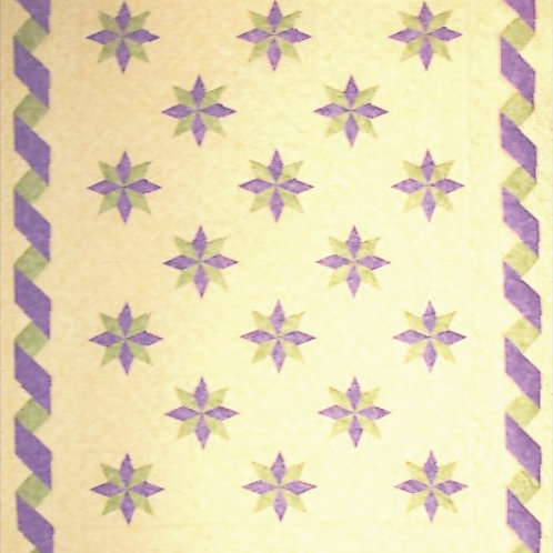 Ribbons and Stars Quilt Pattern