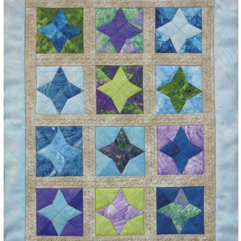 Arkansas Star Miniature Quilt Pattern