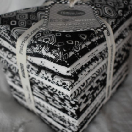 Basically Black and White Fat Quarter Collection
