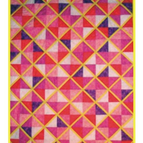 Split Rail Baby Quilt Pattern