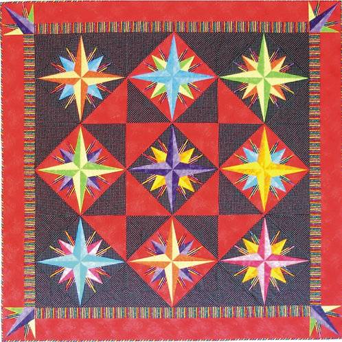 Jeremy's Star Fabric Kit (Pattern included)