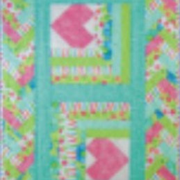 Heart In The Cabin Table Topper Pattern