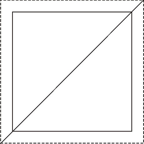"Half Square Triangle Blocks 1-1/2""  288/pkg"