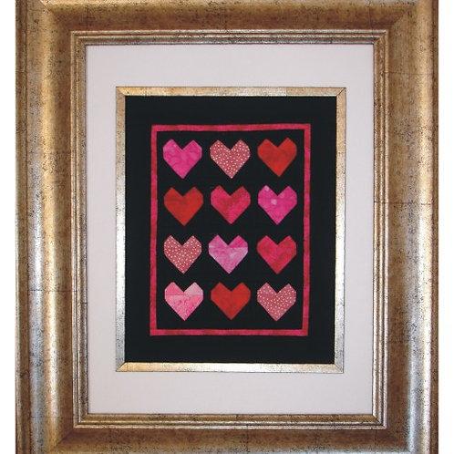 Mini Heart Quilt Pattern
