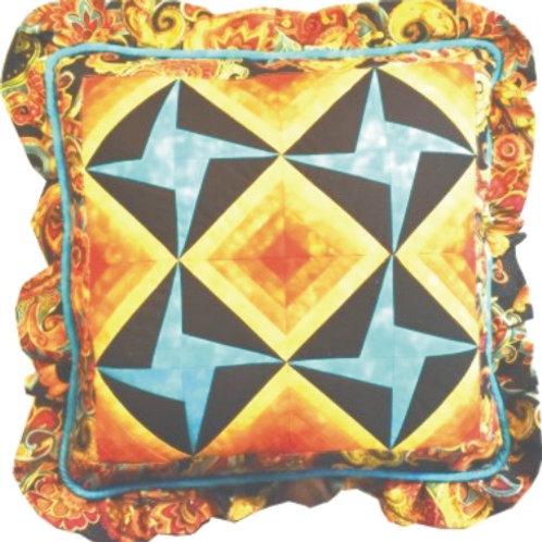 Spring Star Pillow Pattern (2)