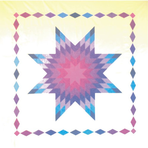 LoneStar & Diamonds Quilt Fabric Kit (Pattern included)