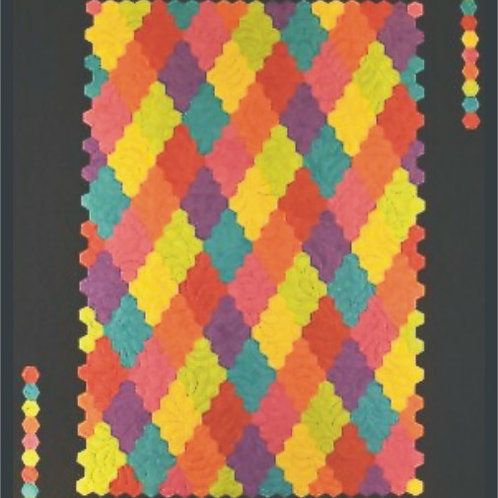 Grandmother's Diamonds Quilt Pattern