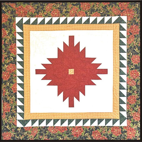 "Pineapple Blossom Small Table Topper 36"" x 36"""