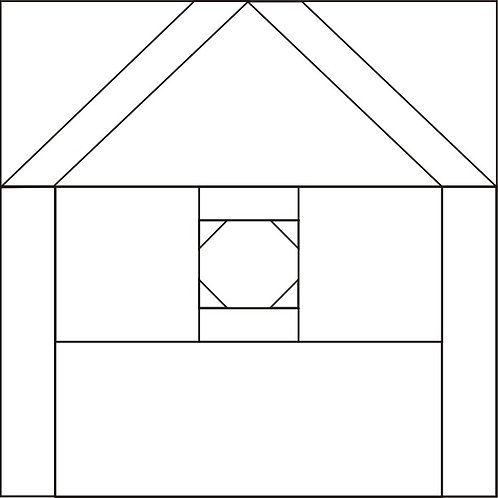"Bird House #2 Blocks 6"" 6/pkg"