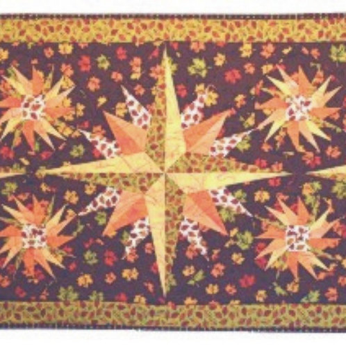 Stars for my Table Runner Fabric Kit with Pattern