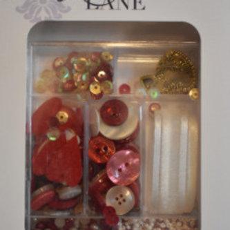 Love Story Embellishment Kit