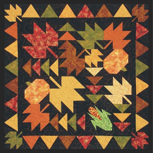 Autumn Splendor Table Topper Pattern