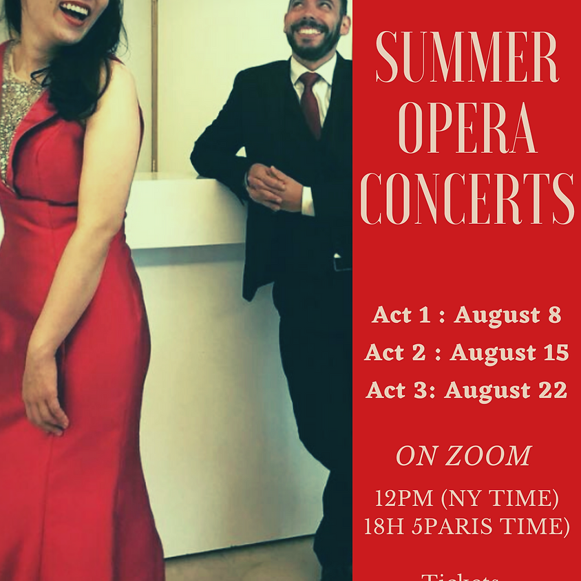 Last concert on August 22! Purchase tickets below!