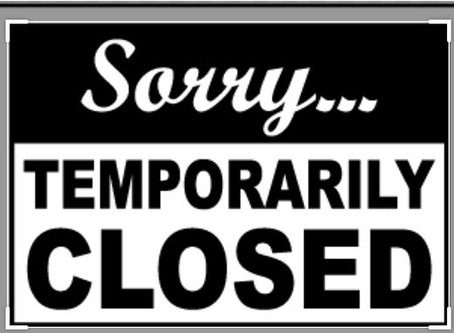Arden Salt Room and Sauna Is Closed Temporarily