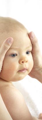 Nach langen oder sehr schnellen Geburten.  Bei Kopfdeformationen, Zwangshaltung, Haltungsasymmetrie. Bild: ©epicseurope/shutterstock