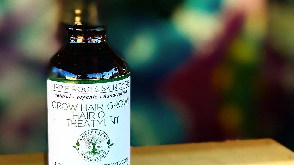 Grow Hair Grow! Hair Oil Treatment
