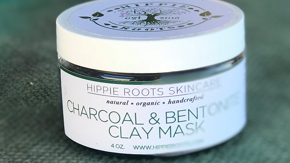 Charcoal & Bentonite Clay Mask