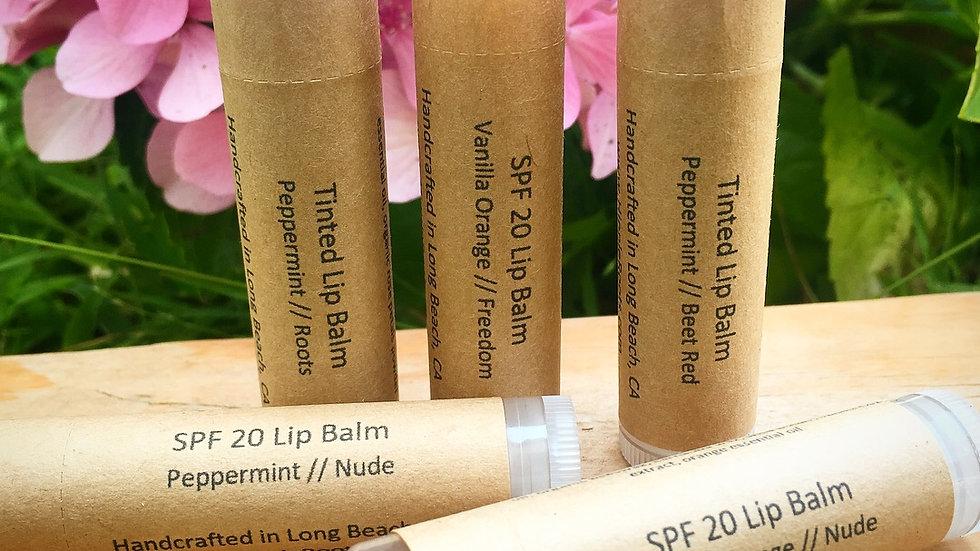 SPF 20 Natural Lip Balm