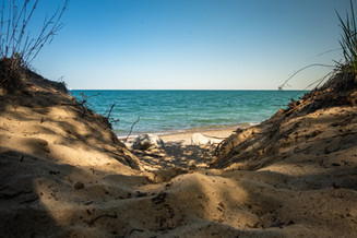 The Sands of Lake Michigan