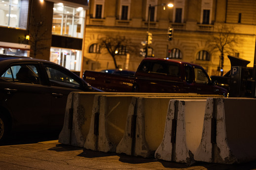 Off the Streets (Concrete Barriers)