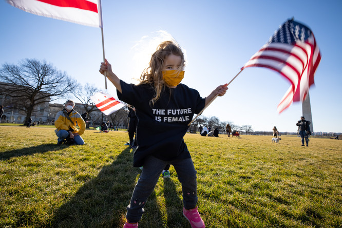 The Future is Female (Two Flags)