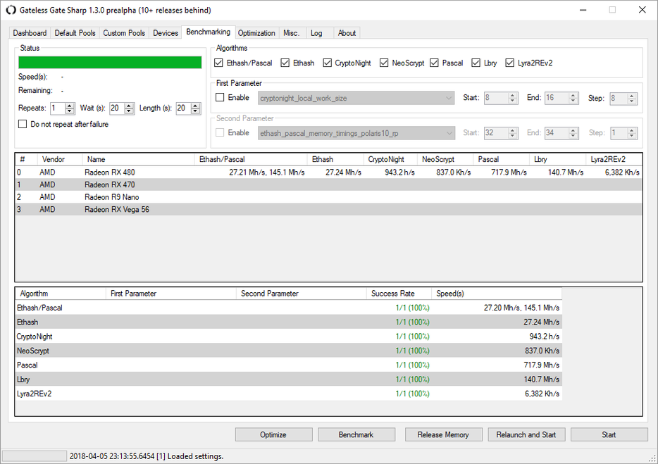 Gateless Gate Sharp 1 3 5 Alpha Dual Miner (Windows